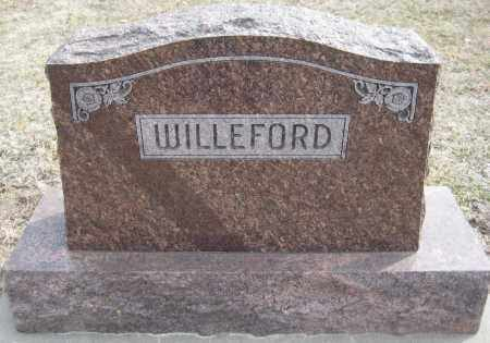 WILLEFORD, FAMILY MONUMENT - Saline County, Nebraska | FAMILY MONUMENT WILLEFORD - Nebraska Gravestone Photos