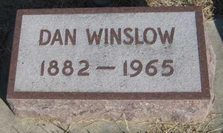 WINSLOW, DAN - Saline County, Nebraska   DAN WINSLOW - Nebraska Gravestone Photos