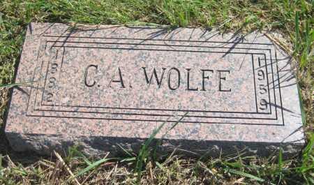 WOLFE, C. A. - Saline County, Nebraska | C. A. WOLFE - Nebraska Gravestone Photos