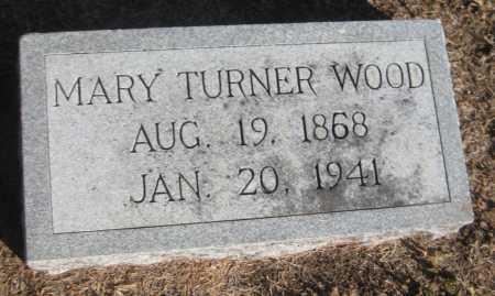 WOOD, MARY - Saline County, Nebraska | MARY WOOD - Nebraska Gravestone Photos