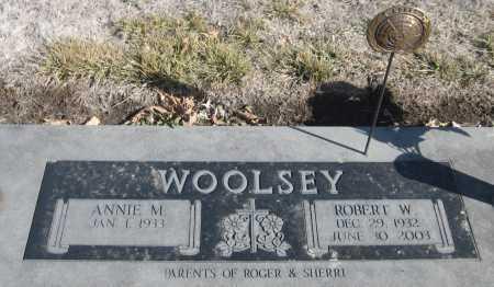 WOOLSEY, ROBERT W. - Saline County, Nebraska | ROBERT W. WOOLSEY - Nebraska Gravestone Photos