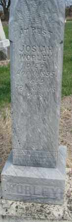 WORLEY, JOSIAH - Saline County, Nebraska | JOSIAH WORLEY - Nebraska Gravestone Photos