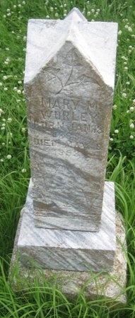 WORLEY, MARY M. - Saline County, Nebraska | MARY M. WORLEY - Nebraska Gravestone Photos