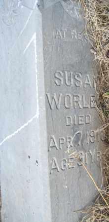 WORLEY, SUSAN - Saline County, Nebraska | SUSAN WORLEY - Nebraska Gravestone Photos
