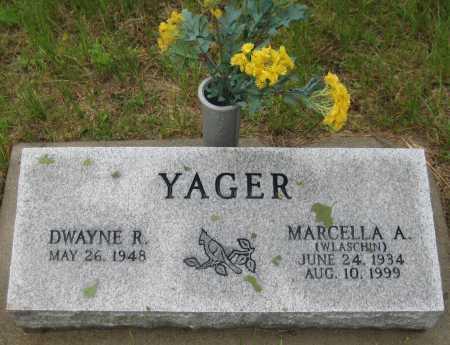 YAGER, DWAYNE R. - Saline County, Nebraska | DWAYNE R. YAGER - Nebraska Gravestone Photos