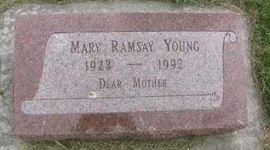 RAMSAY DELL, MARY - Saline County, Nebraska | MARY RAMSAY DELL - Nebraska Gravestone Photos