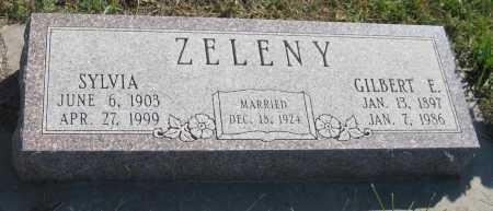 ZEDNIK ZELENY, SYLVIA - Saline County, Nebraska | SYLVIA ZEDNIK ZELENY - Nebraska Gravestone Photos