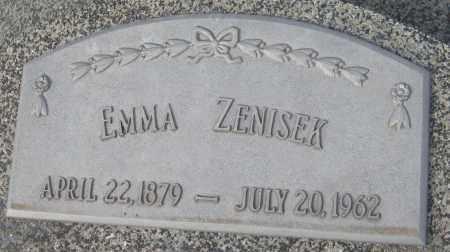 ZENISEK, EMMA - Saline County, Nebraska   EMMA ZENISEK - Nebraska Gravestone Photos