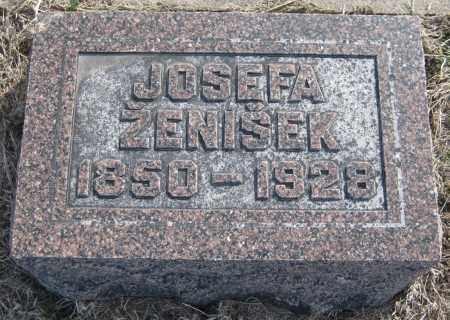 ZENISEK, JOSEFA - Saline County, Nebraska | JOSEFA ZENISEK - Nebraska Gravestone Photos