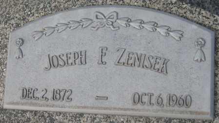 ZENISEK, JOSEPH F. - Saline County, Nebraska | JOSEPH F. ZENISEK - Nebraska Gravestone Photos