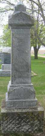 ZIEMANN, FAMILY MONUMENT - Saline County, Nebraska | FAMILY MONUMENT ZIEMANN - Nebraska Gravestone Photos