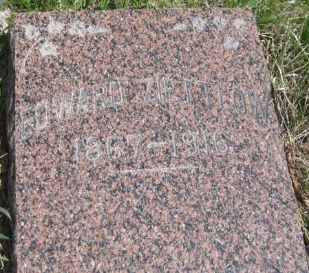 ZIETTLOW, EDWARD - Saline County, Nebraska   EDWARD ZIETTLOW - Nebraska Gravestone Photos