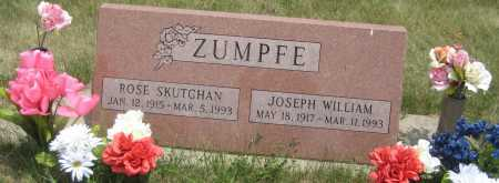 ZUMPFE, JOSEPH WILLIAM - Saline County, Nebraska | JOSEPH WILLIAM ZUMPFE - Nebraska Gravestone Photos