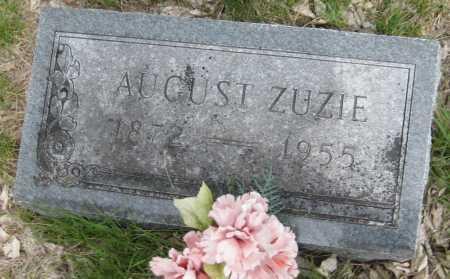 ZUZIE, AUGUST - Saline County, Nebraska | AUGUST ZUZIE - Nebraska Gravestone Photos