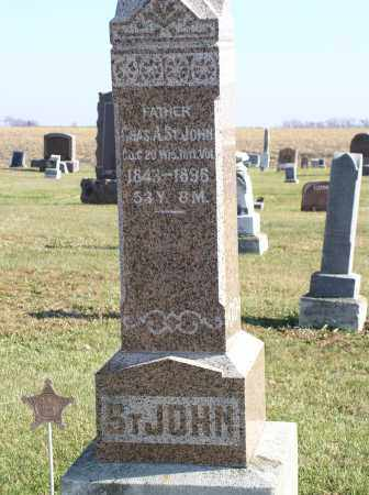 ST. JOHN, CHAS. A. - Saline County, Nebraska | CHAS. A. ST. JOHN - Nebraska Gravestone Photos