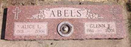 ABELS, GLENN R. - Sarpy County, Nebraska | GLENN R. ABELS - Nebraska Gravestone Photos