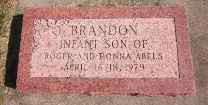 ABELS, BRANDON - Sarpy County, Nebraska | BRANDON ABELS - Nebraska Gravestone Photos