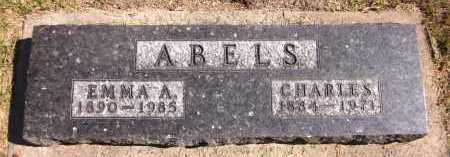 ABELS, EMMA A. - Sarpy County, Nebraska   EMMA A. ABELS - Nebraska Gravestone Photos