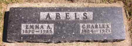 ABELS, EMMA A. - Sarpy County, Nebraska | EMMA A. ABELS - Nebraska Gravestone Photos