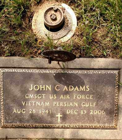ADAMS, JOHN - Sarpy County, Nebraska | JOHN ADAMS - Nebraska Gravestone Photos