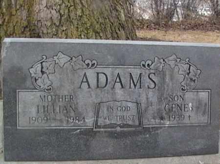 ADAMS, LILLIAN - Sarpy County, Nebraska   LILLIAN ADAMS - Nebraska Gravestone Photos