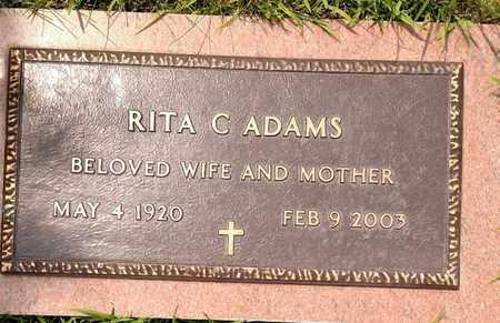 ADAMS, RITA - Sarpy County, Nebraska   RITA ADAMS - Nebraska Gravestone Photos