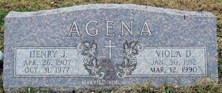 AGENA, VIOLA D. - Sarpy County, Nebraska | VIOLA D. AGENA - Nebraska Gravestone Photos
