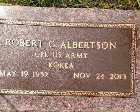 ALBERTSON, ROBERT - Sarpy County, Nebraska | ROBERT ALBERTSON - Nebraska Gravestone Photos