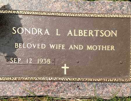 ALBERTSON, SONDRA - Sarpy County, Nebraska | SONDRA ALBERTSON - Nebraska Gravestone Photos