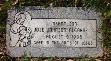 ALCARAZ, JOSE JOHNSON, JR. - Sarpy County, Nebraska | JOSE JOHNSON, JR. ALCARAZ - Nebraska Gravestone Photos
