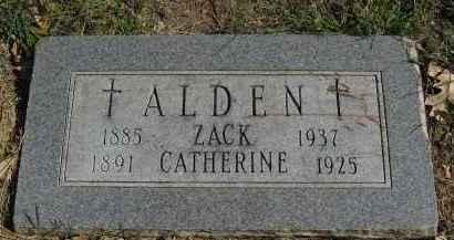 ALDEN, ZACK - Sarpy County, Nebraska | ZACK ALDEN - Nebraska Gravestone Photos