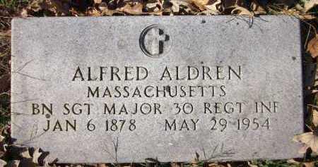 ALDREN, ALFRED - Sarpy County, Nebraska | ALFRED ALDREN - Nebraska Gravestone Photos