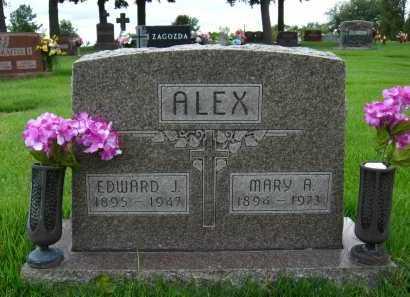 ALEX, MARY A. - Sarpy County, Nebraska | MARY A. ALEX - Nebraska Gravestone Photos