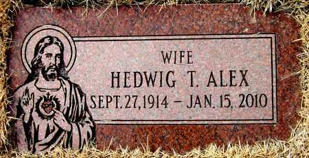 ALEX, HEDWIG T. - Sarpy County, Nebraska   HEDWIG T. ALEX - Nebraska Gravestone Photos
