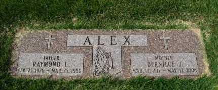 ALEX, BERNIECE J. - Sarpy County, Nebraska   BERNIECE J. ALEX - Nebraska Gravestone Photos