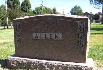 ALLEN, FAMILY - Sarpy County, Nebraska | FAMILY ALLEN - Nebraska Gravestone Photos