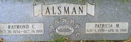 ALSMAN, PATRICIA - Sarpy County, Nebraska   PATRICIA ALSMAN - Nebraska Gravestone Photos