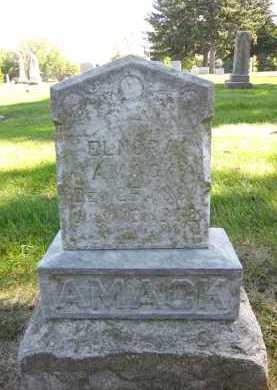 AMACK, ELNORA - Sarpy County, Nebraska | ELNORA AMACK - Nebraska Gravestone Photos