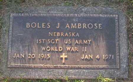 AMBROSE, BOLES J. - Sarpy County, Nebraska | BOLES J. AMBROSE - Nebraska Gravestone Photos