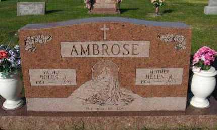 AMBROSE, HELEN R. - Sarpy County, Nebraska | HELEN R. AMBROSE - Nebraska Gravestone Photos