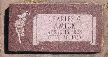 AMICK, CHARLES G. - Sarpy County, Nebraska | CHARLES G. AMICK - Nebraska Gravestone Photos