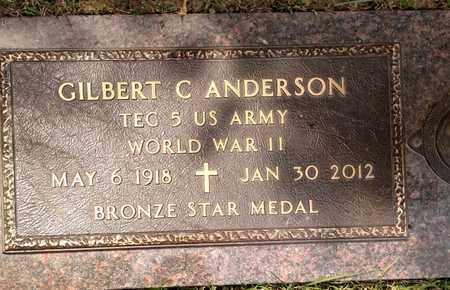 ANDERSON, GILBERT - Sarpy County, Nebraska | GILBERT ANDERSON - Nebraska Gravestone Photos