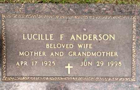 ANDERSON, LUCILLE - Sarpy County, Nebraska | LUCILLE ANDERSON - Nebraska Gravestone Photos