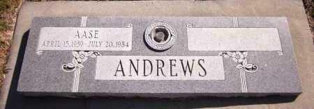 ANDREWS, AASE - Sarpy County, Nebraska | AASE ANDREWS - Nebraska Gravestone Photos