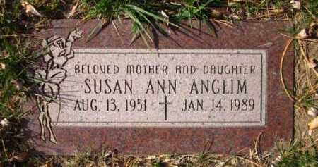 ANGLIM, SUSAN ANN - Sarpy County, Nebraska | SUSAN ANN ANGLIM - Nebraska Gravestone Photos