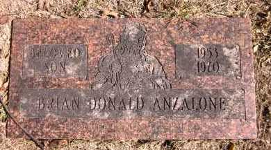 ANZALONE, BRIAN DONALD - Sarpy County, Nebraska   BRIAN DONALD ANZALONE - Nebraska Gravestone Photos