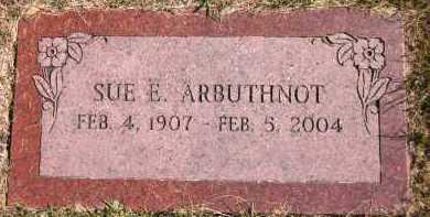 ARBUTHNOT, SUE E. - Sarpy County, Nebraska | SUE E. ARBUTHNOT - Nebraska Gravestone Photos