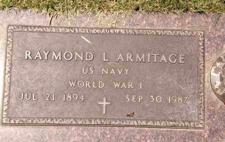 ARMITAGE, RAYMOND - Sarpy County, Nebraska | RAYMOND ARMITAGE - Nebraska Gravestone Photos