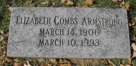 ARMSTRONG, ELIZABETH - Sarpy County, Nebraska | ELIZABETH ARMSTRONG - Nebraska Gravestone Photos