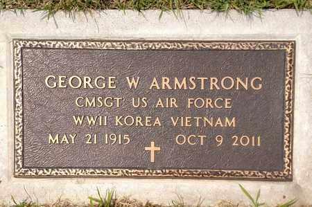 ARMSTRONG, GEORGE - Sarpy County, Nebraska | GEORGE ARMSTRONG - Nebraska Gravestone Photos